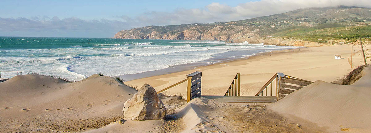 португалия пляж гиншу