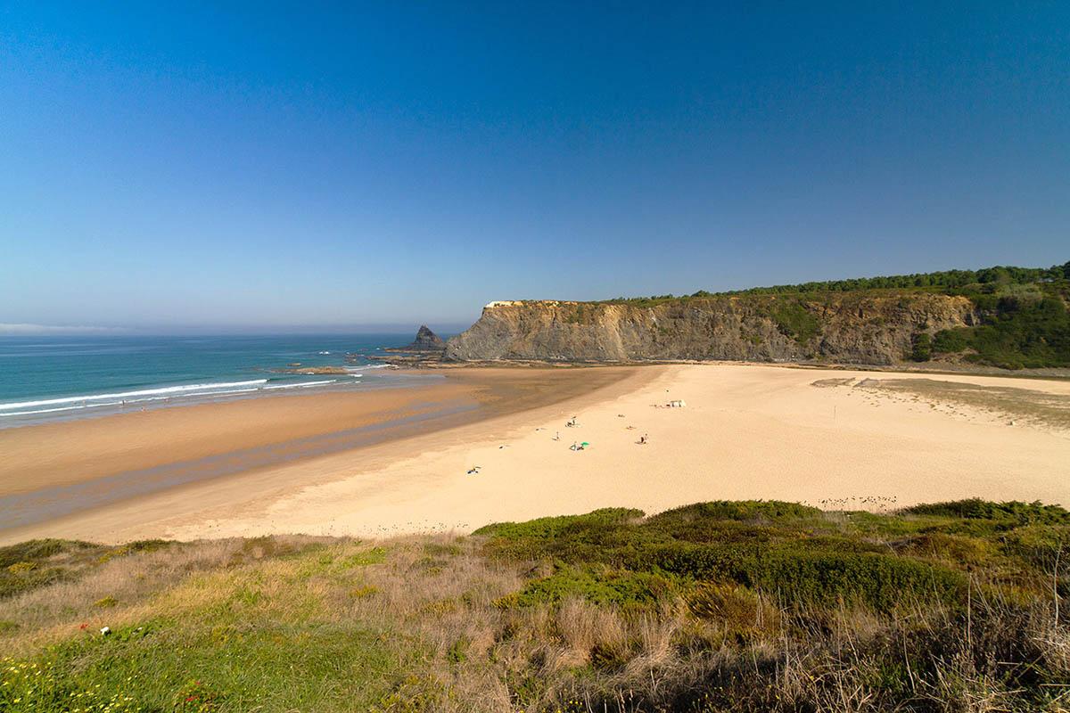 Пляж Odeceixe португалия