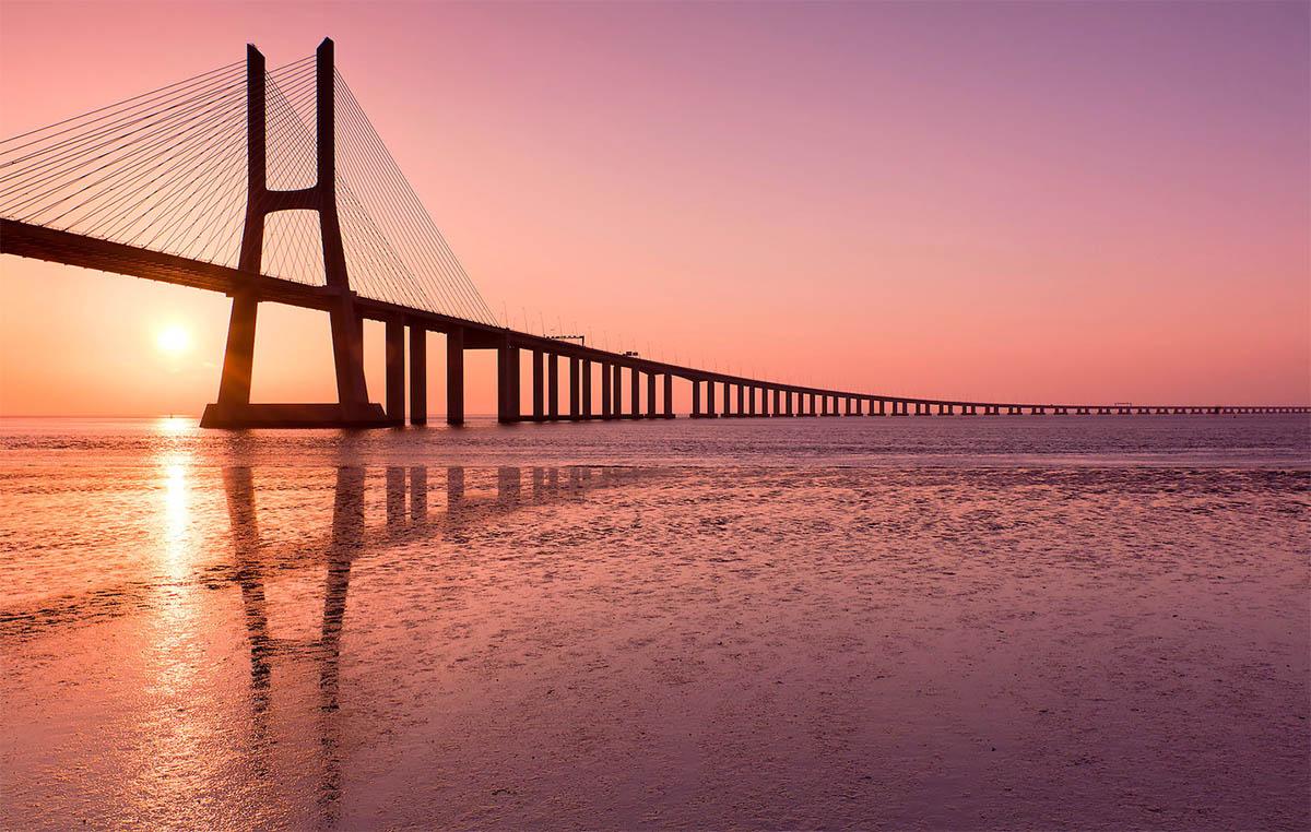 лиссабон мост васко да гама